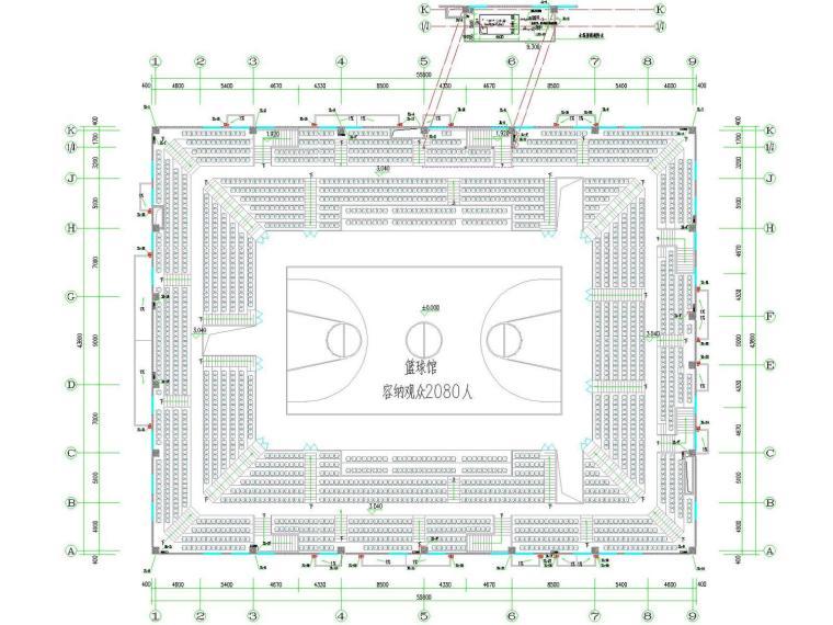[阜阳]体育馆给排水一体化消防泵房施工图
