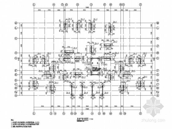 [重庆]18层剪力墙结构高层住宅楼结构施工图