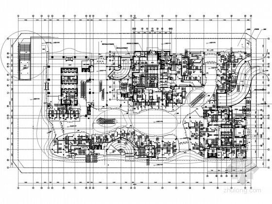 [辽宁]商业办公住宅综合地标建筑空调通风及防排烟系统设计施工图(制冷机房 大院出品)