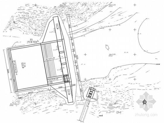 [云南]径流引水式电站工程施工图(大坝 引水隧洞 厂房)