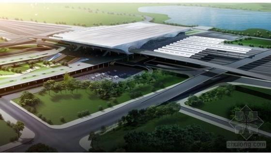 深圳某大型火车站施工组织设计(钢管混凝土柱 组合梁 钢桁架)