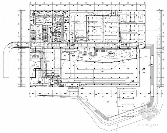省级博物馆强弱电系统全套施工图纸90张