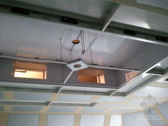 手术室无缝洁净墙面、顶棚施工技术(附图)