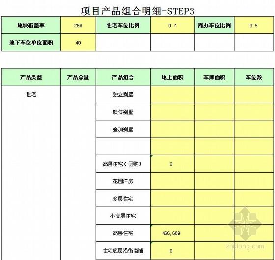 [南昌]2013年旧城改造投资成本测算实例(住宅、商业)