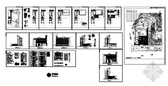 万洲公安局建筑施工图-4