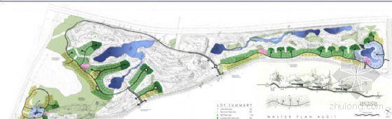 贝尔高林给国内球场作的景观方案手绘图