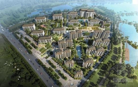 安置区住宅文本资料下载-[海南]热带地域风格企业安置区建筑设计方案文本(16年最新)