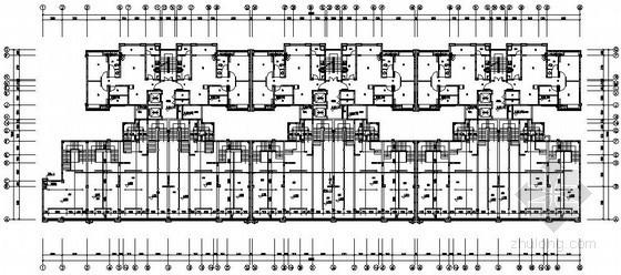 [四川]住宅小区给排水施工图纸(含四栋楼、地下室)