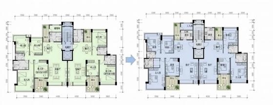 [广州]现代宜居亚运村地块规划设计方案文本-现代宜居亚运村地块规划平面图