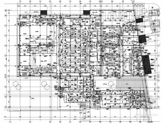 [上海]数据中心空调通风设计施工图(恒温恒湿系统)