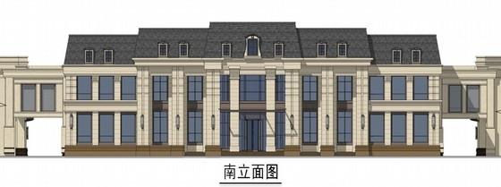 [湖北]新古典风格住宅区设计方案图(知名事务所)