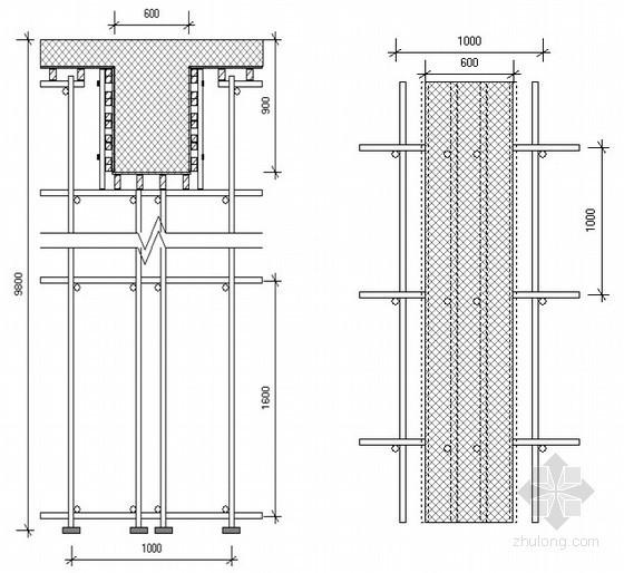 [湖南]机场航站楼高支模工程施工方案