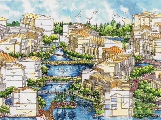 [湖南]国际温泉度假区概念性规划设计方案文本(知名事务所)
