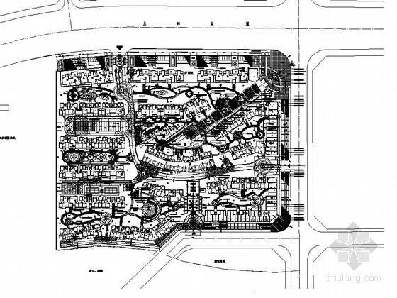 [新余]加州风情生态社区景观园建工程施工图