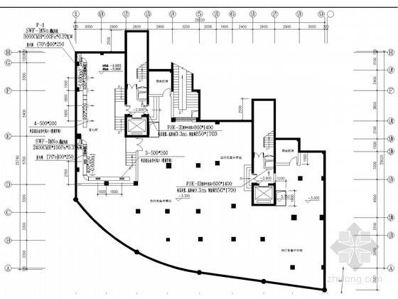 [浙江]住宅小区通风系统设计施工图