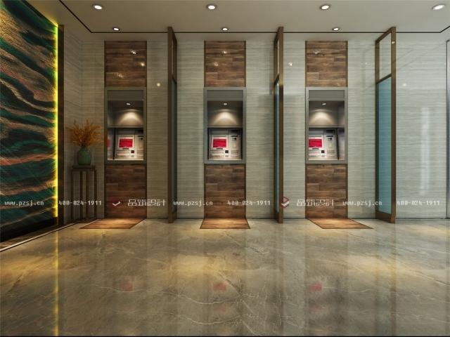 品筑出新作啦!内蒙古·兴安盟乌塔其银行室内设计效果图-04前厅C04.jpg
