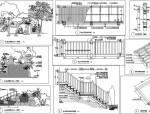 [海南]热带雨林风情酒店区景观施工图(附设计概算及物料表)