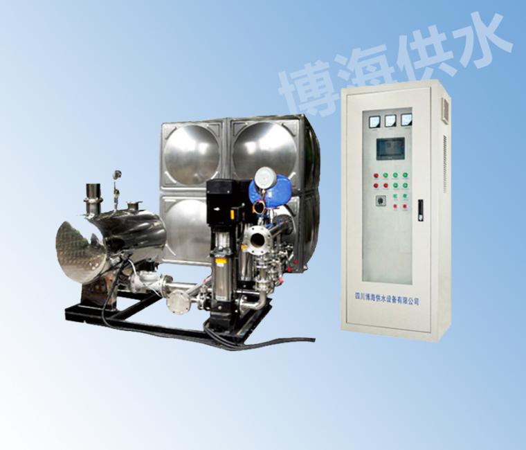 四川箱式无负压供水设备的原理介绍:
