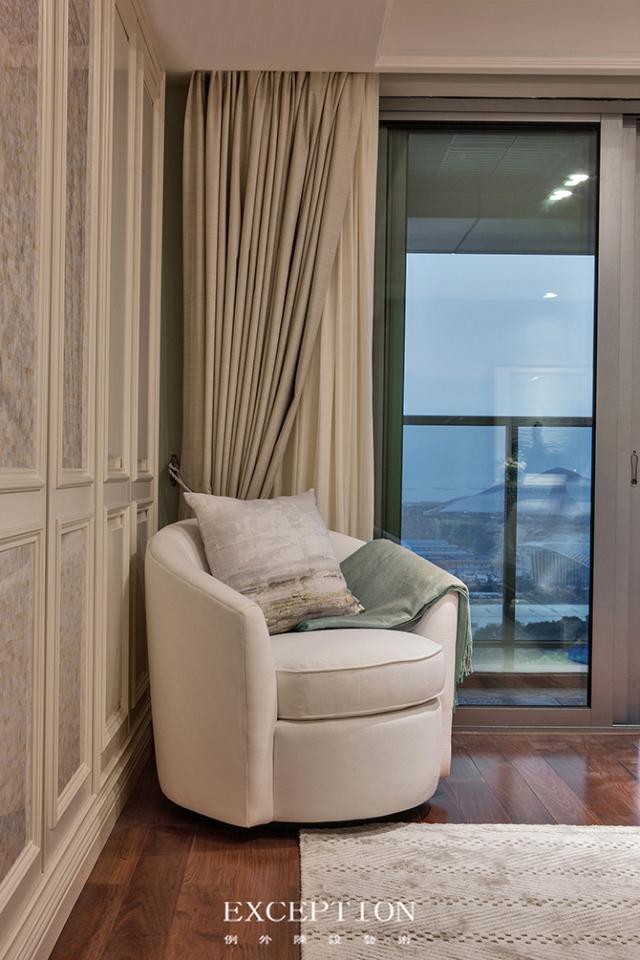 燕尔臻邸--深圳鲸山觐海复式软装设计-  「设计解读.女儿房细节」第16张图片