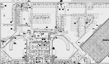 [四川]超大型商住综合小区全套暖通空调系统设计施工图(名院出品)