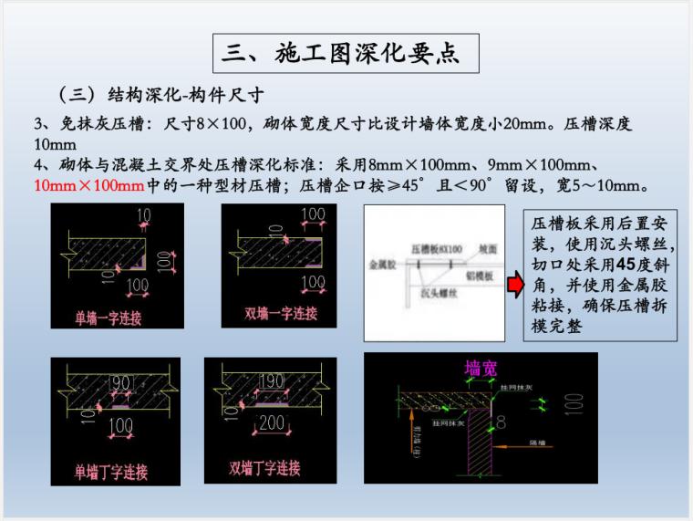 铝模前期施工图深化及施工管理运营要点解析(共116页,图文详细)