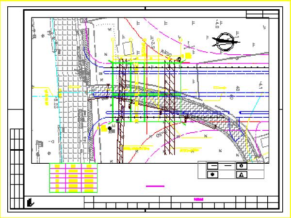 市政工程桥梁设计施工图纸(共73张,含附属工程)