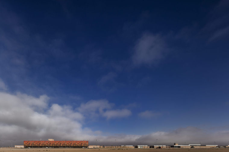 摩洛哥可拓展性盖勒敏机场外部实景图 (5)