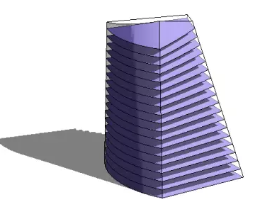 屋盖V形折板的钢筋配置图