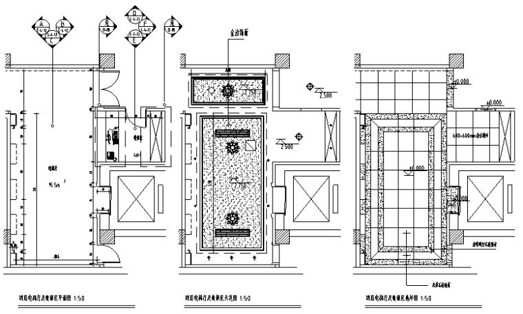 20套餐饮空间装修设计施工图