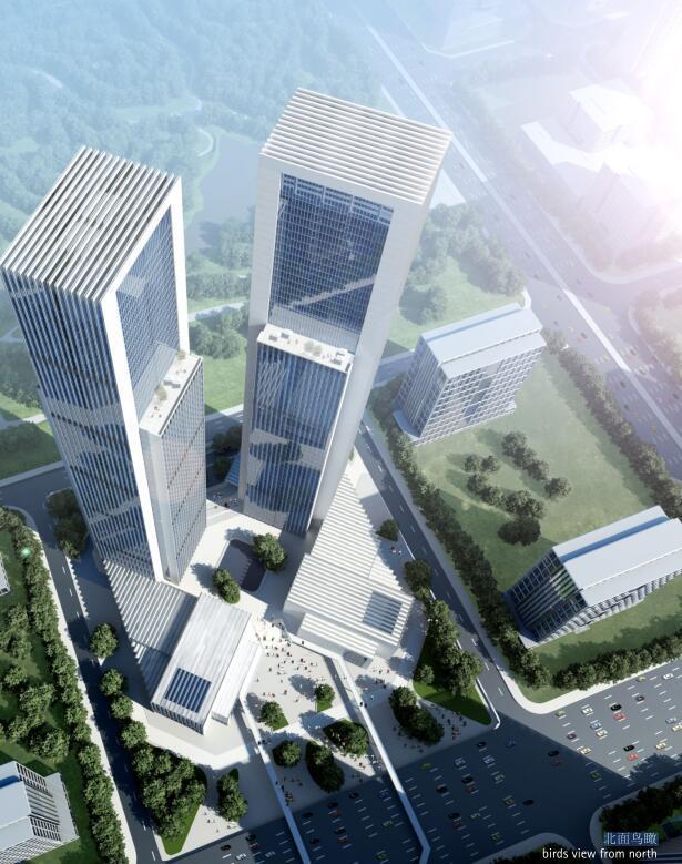 [GMP]绿地滨湖城二七双塔.建筑方案文本设计(包含PSD+255页)
