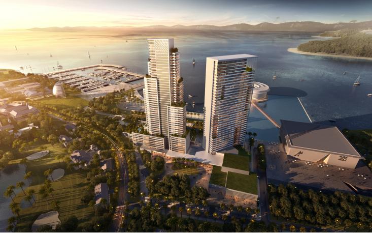 超高层酒店式公寓建筑设计方案文本(知名设计院)