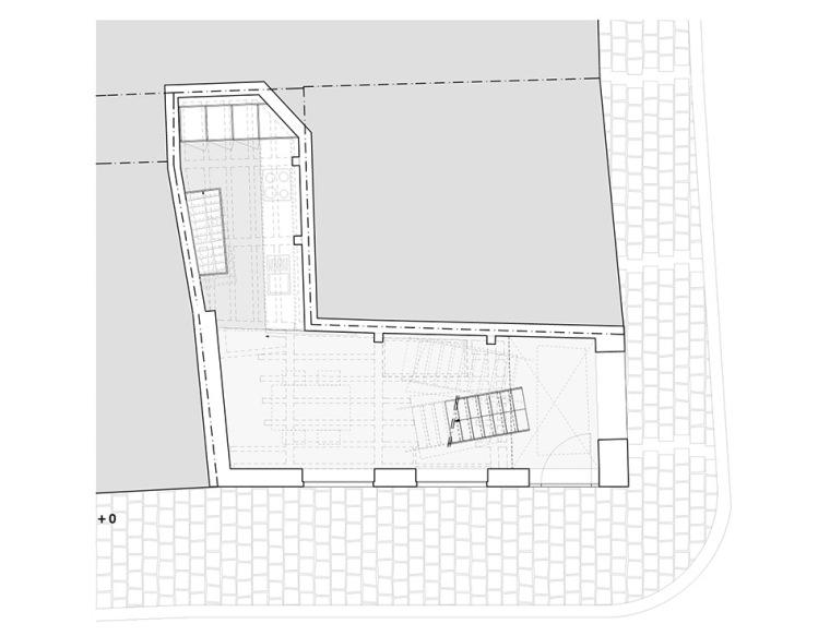 比利时一室小型酒店建筑平面图 (14)