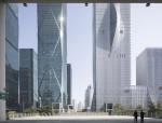 """BIG深圳国际能源大厦,由远及近看""""折纸""""立面"""