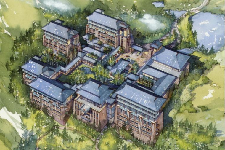 现代风格综合性度假村规划设计方案文本