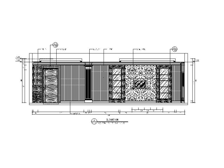 【福建】混搭风格检察院设计CAD施工图(含效果图)_3