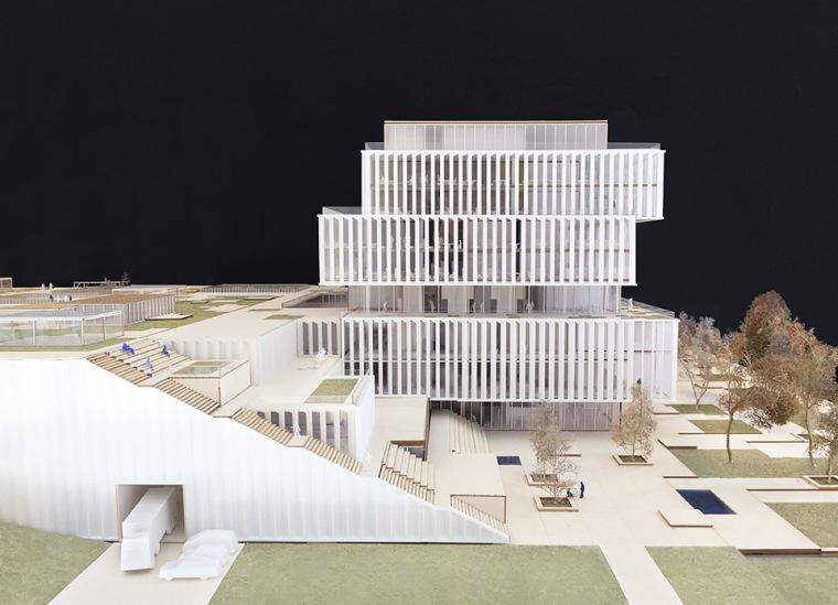 比利时可持续的Solvay国际办公总部-10
