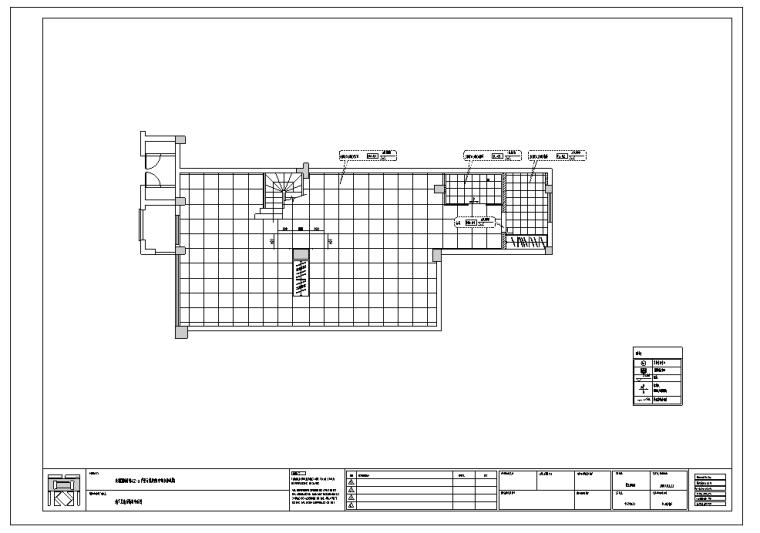 成都国建新城A2户型室内设计施工图纸