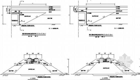 时速350kmh铁路路基设计通用图115张(含防护排水挡墙过渡段)