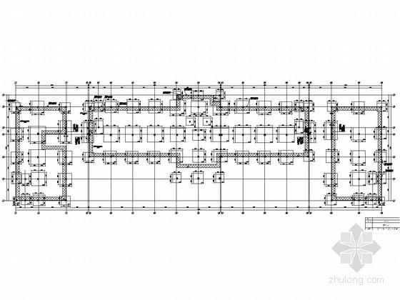 [黑龙江]地上三层框架结构办公楼结构施工图