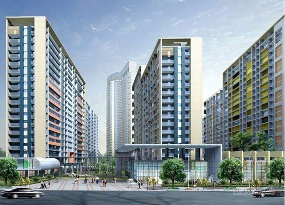 [贵州]居住区建设工程施工合同(建筑面积7万平方米)