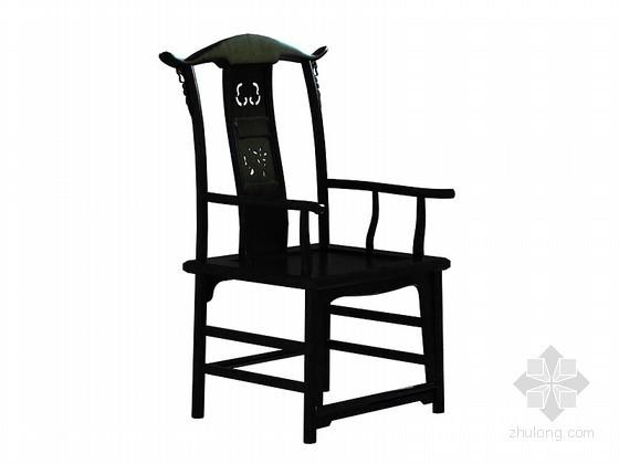 太师椅子3D模型下载