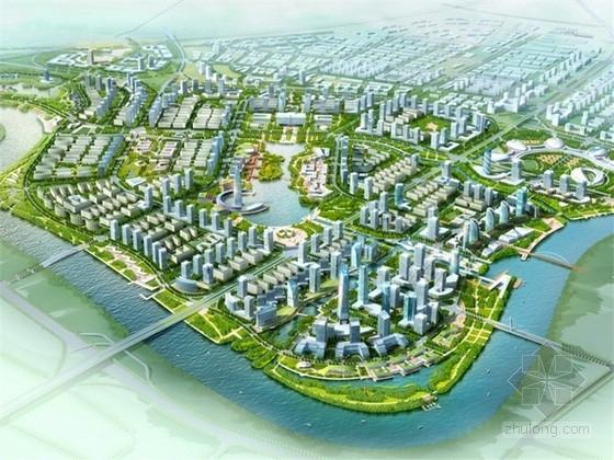 [浙江]现代风格新城区规划设计方案文本