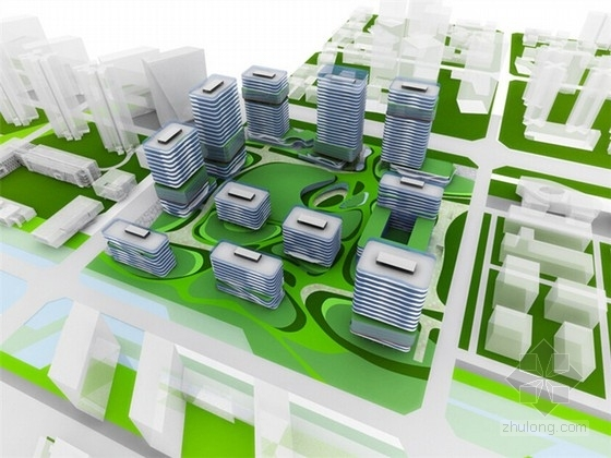 [四川]现代风格知名企业产业园办公区设计方案文本