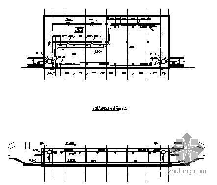 某水景工程泵房及控制室通风图
