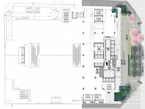 [成都]市中心高档现代四星级酒店室内装修设计方案