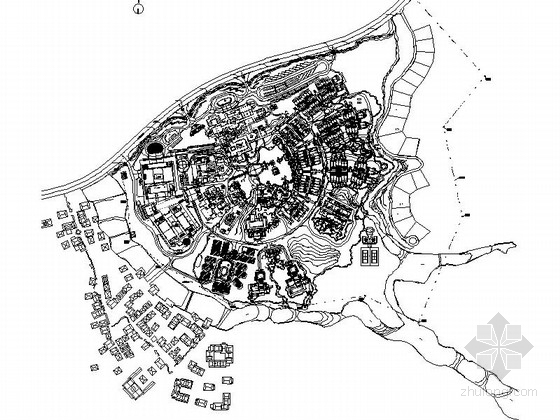 [云南]度假区酒店景观规划设计施工图