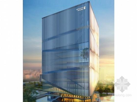 [上海]24层现代风格医疗科技基地办公塔楼建筑设计方案文本