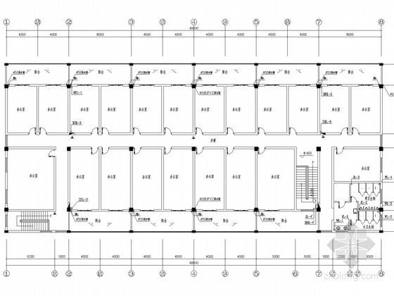 [江西]学生服务中心及宿舍给排水消防施工图
