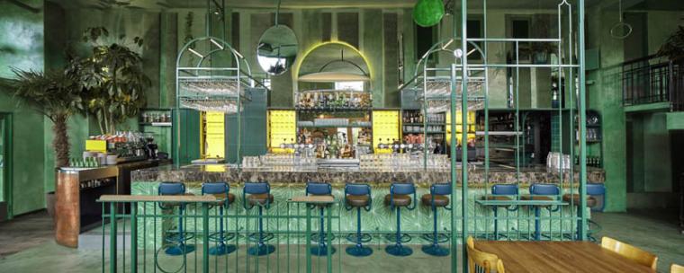 城市中的热带雨林阿姆斯特街角餐厅_14
