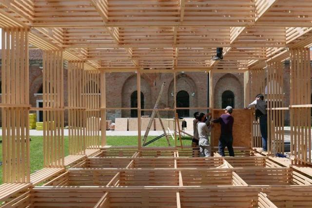威尼斯双年展 中国馆印象:平民设计,日用即道_11